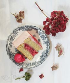 raspberry cream cake flowerhatbakery recipe