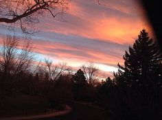 awesome A gorgeous sunrise to welcome Thanksgiving Day!