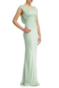 Salma Dress Dusty Green | Ghost