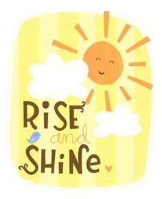 Rise and Shine Wall Art Print by elissahudson on Etsy