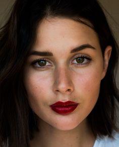 Rimmel London Burning Lava red lipstick | HarperandHarley