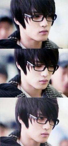 Kim Jaejoong; he looks like Kyoya Ootori from Ouran High School Host Club