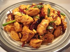 Traditional Kung Pao Chicken is hot! But you can always adjust the amount of dried chili. Since this recipe is authentic and has satisfied many people, I encourage you to give it a try! Enjoy!!