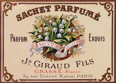 Vintage Perfume Label K