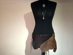 wild skirt leather von Elbengard auf Etsy