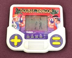 DOUBLE DRAGON Handheld LCD Game Tiger Electronics 1988