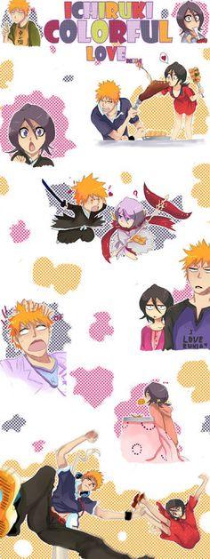Cute IchiRuki love. <3 #bleach