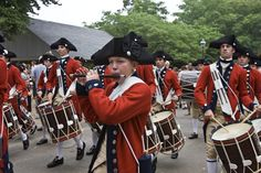 Colonial Williamsburg Fifes and Drums Corps