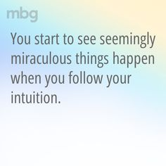 8 Signs You've Lost Touch With Your Intuition