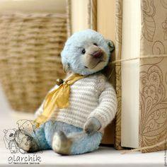 Teddy bear / Мишки Тедди ручной работы. меведик Кусто. glarchik Лариса. Интернет-магазин Ярмарка Мастеров. Авторская игрушка, teddy