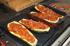 Fylte, ovnsbakte squash - sunt og blodsukkervennlig - Lev med diabetes.no Squash, Zucchini, Diabetes, Vegetables, Food, Alternative, Pumpkins, Gourd, Essen