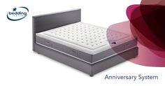 Tessuto personalizzabile, sistema a molle su molle e capacità auto modellanti. Non male il sistema letto sommier, no?  #materasso #letto