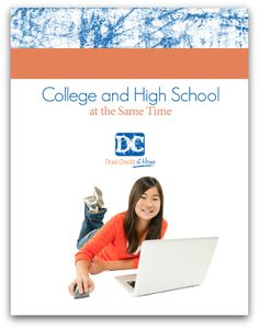 Our dual credit ebook explains how your teen can earn an accredited college degree DURING high school - at home!   It tells how some of our kids have done this using CLEP, DSST, GRE, and other types of college-level exams.     It's a great way for students to stay debt-free while earning their degree, and they can do it in much less time too!