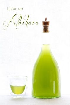 recetas de licores: licor de albahaca Cocktail Mix, Cocktail Drinks, Refreshing Drinks, Fun Drinks, Kefir, Happy Drink, Homemade Liquor, Tea Smoothies, Alcohol