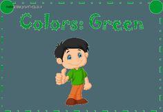 Colors green