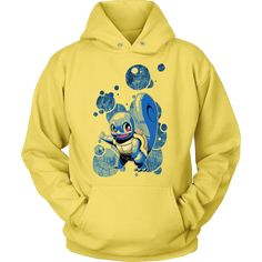 Epic Squirtle Pokemon Hoodie.