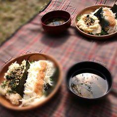 外で朝食 - 5件のもぐもぐ - 山菜料理 by fukiyuki