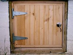 How To Build A Crawl Space Door Home Projects