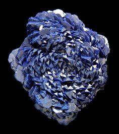 A most unique specimen of Azurite