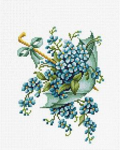 Size: 15x20 cm; Colors: 19; Threads: Anchor; Fabric: Zweigart 14ct. AIDA The kit contains fabric for the work, cotton floss Anchor & thread sorter, a needle for embroidery, an instruction and a chart.