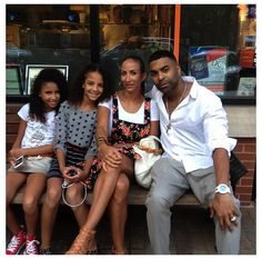 25 Facts You Never Knew about Ginuwine Ginuwine With Sole Their Daughters, Dream Story My Black Is Beautiful, Beautiful Family, Black Love, Black Men, Simply Beautiful, Beautiful Women, Black Couples, Cute Couples, Couple Noir