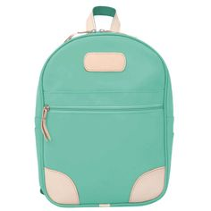 Jon Hart Design Back Pack Shown in Mint Coated Canvas