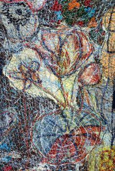 Textile art by Anne Kelly