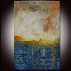 Abstract Textured Sculpted Original Painting by Andrada by Andrada