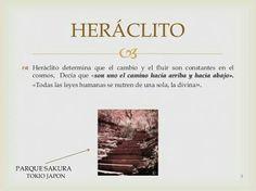 Heraclito, Cambio, devenir