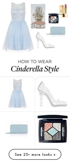 """""""Cinderella Prom Style 2k16"""" by uniicorncandy on Polyvore featuring Dorothy Perkins, Dolce&Gabbana, Kate Spade, Christian Dior and Yves Saint Laurent"""