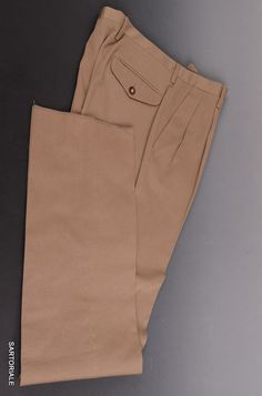 RUBINACCI Napoli Gray Cotton Dress Pants EU 52 NEW US 36 Straight Classic Fit