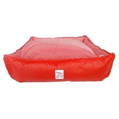 Cama Versátil Luxo Listrada Vermelha São Pet - MeuAmigoPet.com.br #petshop #cachorro #cão #meuamigopet