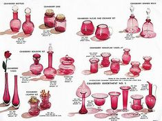 Pilgrim Glass 1966 1972 Four Catalog Reprints Cut Glass, Glass Art, Cobalt, Viking Glass, Colored Vases, Fenton Glass, Blenko Glass, Rainbow Glass, Cranberry Glass
