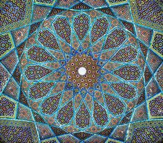 The tomb of Hafez in Shiraz, Iran