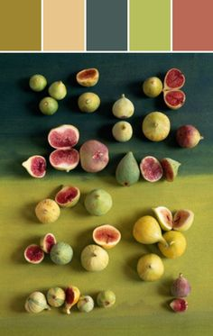Figs and Fall Colors Designed By Lisa Perrone | Stylyze Creative Director via Stylyze