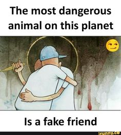 The most dangerous animal on this planet Is a fake friend - iFunny :) Real Friendship Quotes, Real Life Quotes, Hurt Quotes, Reality Quotes, Delete Quotes, Fake Friend Quotes, Bff Quotes, Funny Quotes, Fake Friends Meme