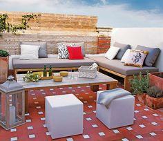 INDOOR/OUTDOOR LIVING: Apartment in Spain. 5/3/2012 via 1 Kind Design