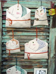 These are so charming can you imagine what message you could stamp on the clay so stinkin amazing – Artofit Ceramics Projects, Clay Projects, Clay Crafts, House Ornaments, Clay Ornaments, Ceramic Clay, Ceramic Pottery, Kids Clay, Diy Accessoires