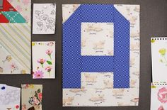 Letter A with @Aneela Hoey @ModaFabrics