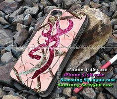 browning deer glitter iphone case, iphone 4/4S, iphone 5/5S, iphone 5c, samsung s3 i9300, samsung s4 i9500, design accesories