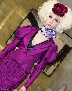 Effie Trinket from Hunger Games