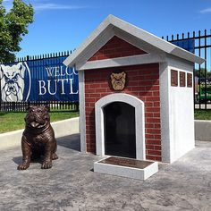 Finished! The dedication ceremony for our new #Bulldog Memorial will be this Friday, 9/26, at 4:00 PM. All fans welcome.
