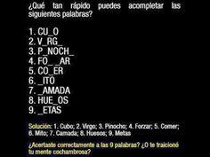 #Mente cochambrosa. #humor en español.