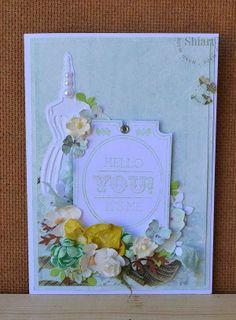 Karteczka na miętowo