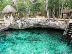 "Located on the road to Tulum , just 15 minutes from town, the Cenote Zazil Ha in Spanish means ""clear water"", was discovered about 30 years ago and has Tulum Mexico, Quintana Roo Mexico, Cozumel, Cancun, Dream Vacations, Vacation Spots, México Riviera Maya, Places To Travel, Places To See"