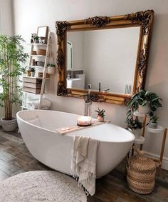 Modern Bohemian Bedrooms & Home Interior Decor Ideas: With the passage of time the demand and trend of the bohemian home decoration has been becoming the main talk of the town. Bathroom Inspiration, Home Decor Inspiration, Decor Ideas, Bathroom Ideas, Bathroom Storage, Bathroom Organization, Vintage Bathroom Decor, Bohemian Bathroom, Design Inspiration
