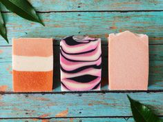 Pink Clay 3 Pack, Artisan Soap, Morrocan Clay, French Pink Clay, Cold process, handcrafted soap, Sensitive skin, mature skin