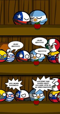 Picture, Comic's And Videos, Countryballs/humans . Argentina Country, Mundo Comic, Country Art, Cool Countries, Super Funny, Funny Comics, Hetalia, Anime Love, Bowser