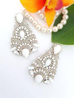 Prom Earrings, Bridesmaid Earrings, Wedding Earrings, Boho Earrings, Bridesmaid Gifts, Statement Earrings, Handmade Jewellery, Earrings Handmade, Handmade Items