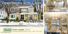 Open house: This beautiful Village of Chagrin Falls century home will be open Sunday, Feb 19 from 1 to 3 pm.
